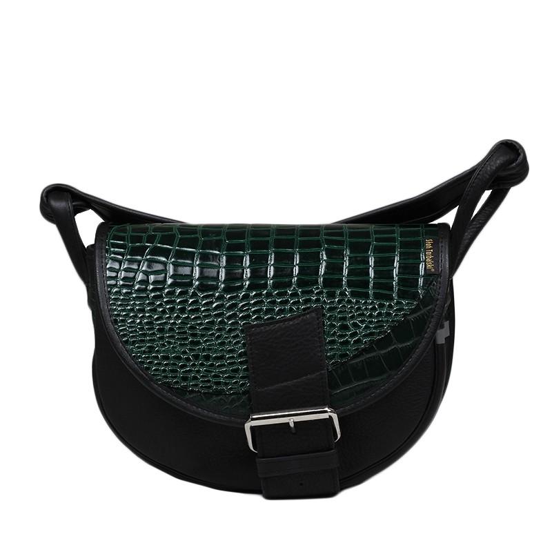 skórzana damska torebka