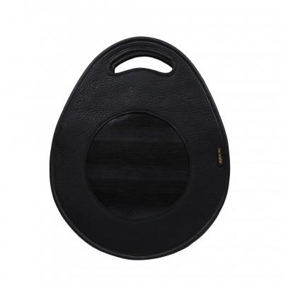 skórzany torebko-plecak