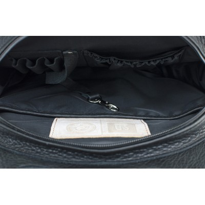skórzany plecak torebka 2w1