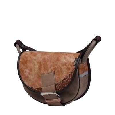 skórzana torebka na ramię handmade