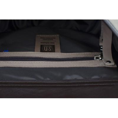 skórzana torebka wnętrze
