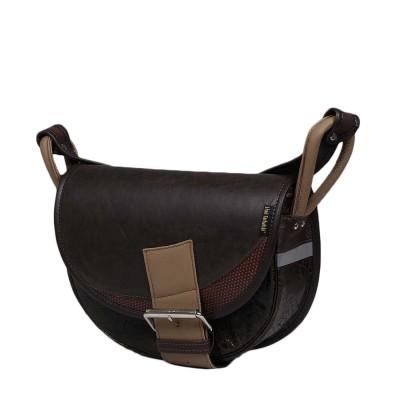 skórzana torebka brązowa na ramię