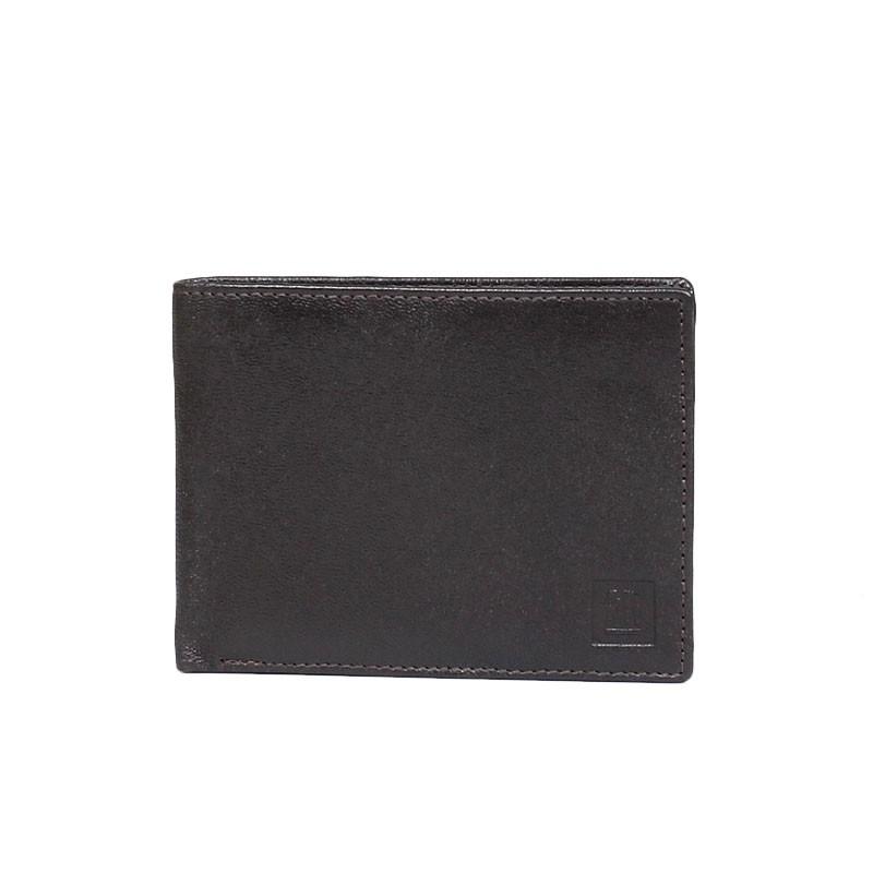 portfel skórzany brązowy