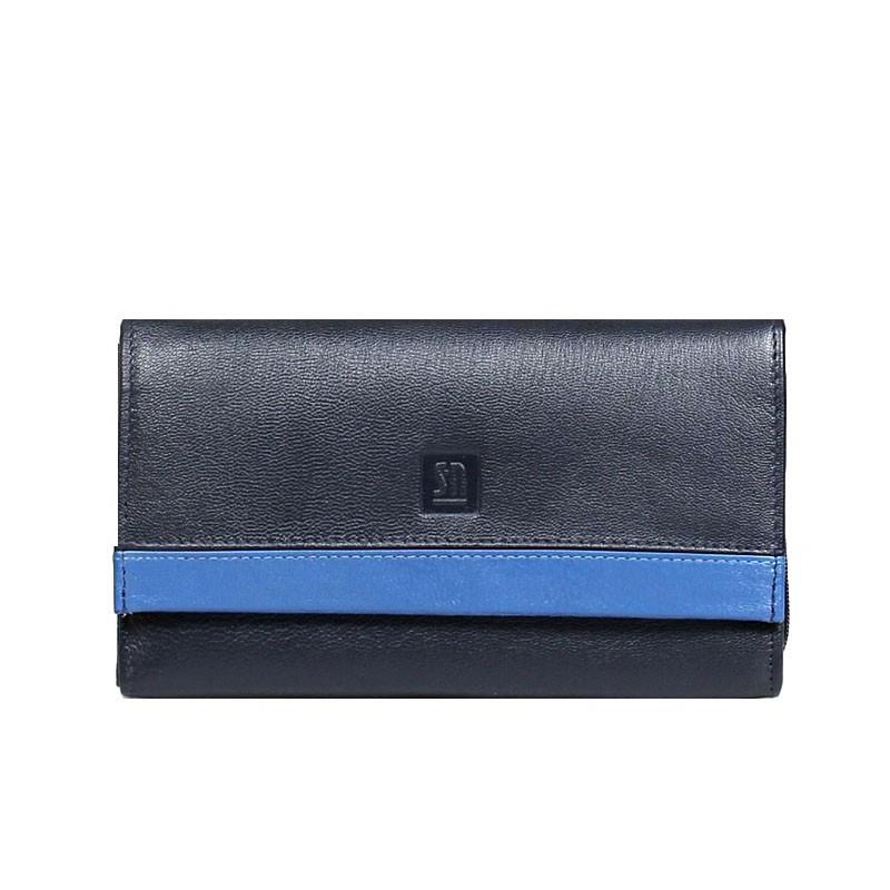 portfel skórzany czarny