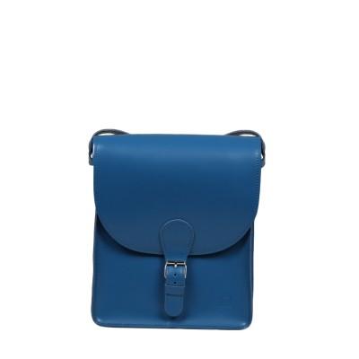 torba skórzana niebieska