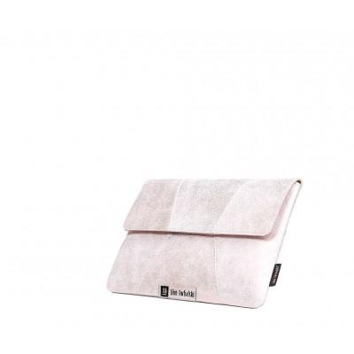 Skórzana torebka Chloe różowa