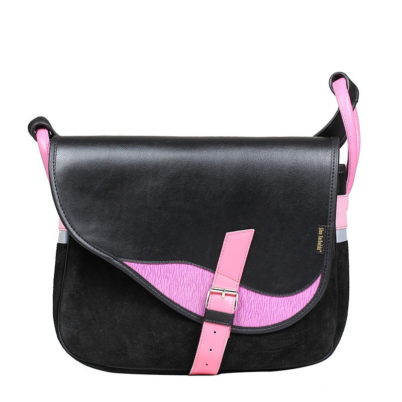 Leather handbag and...