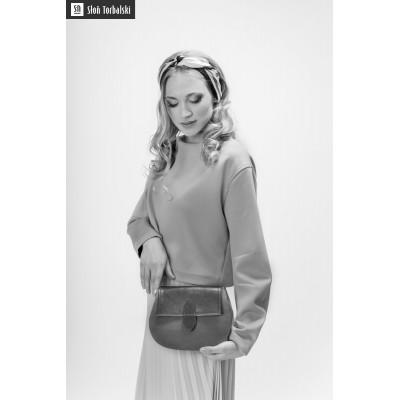 damska torebka na ramie czarna charlotte