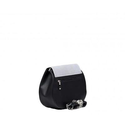mała torebka czarna charlotte tył