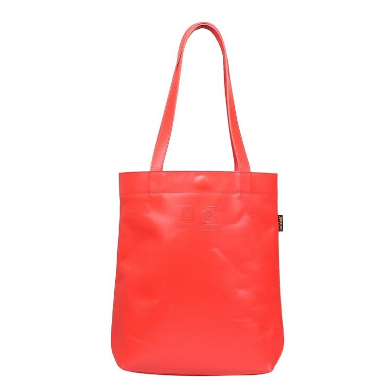 Leather handbag Chiara,...