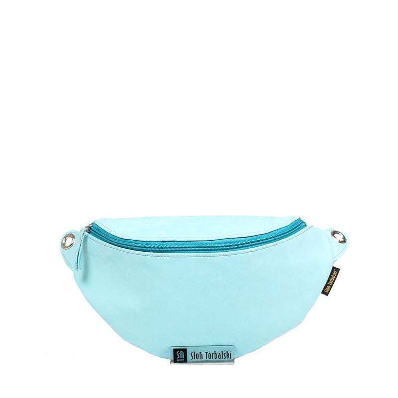 Leather handbag Ariana,...