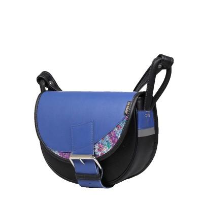 torebka niebiesko czarna