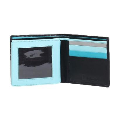 portfel skórzany z miejscem na zdjęcie